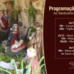 Programação de Natal no Santuário de Fátima da Serra Grande