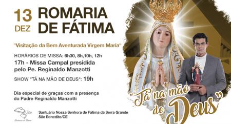 Santuário de Fátima recebe Padre Reginaldo Manzotti