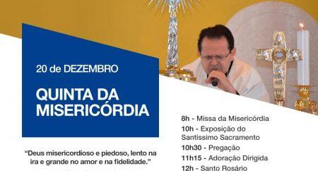 """""""Eis aqui a serva do Senhor, faça-se em mim segundo a tua palavra!""""  Quinta da Misericórdia no Santuário de Fátima da Serra Grande"""