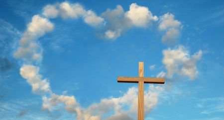 Love and the cross meet to change History