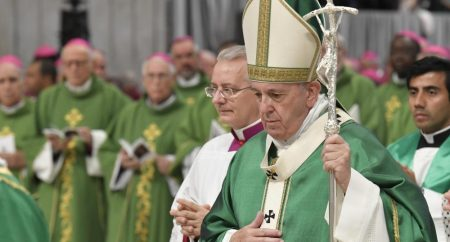 Papa: o Espírito Santo é o protagonista do Sínodo