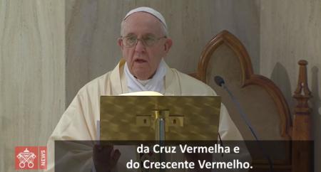 O Papa: deixemo-nos consolar pelo Deus da proximidade, da verdade e da esperança