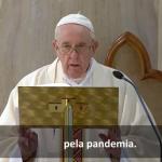 O Papa: Deus acolha as vítimas da pandemia. Não há fé sem liberdade