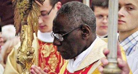 Papa Francisco não aceitou a renúncia do Cardeal Sarah