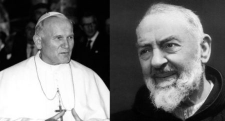 Oração de João Paulo II a São Padre Pio para pedir força durante o sofrimento